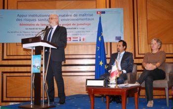 Jumelage entre la Tunisie et la France en partenariat avec les Pays-Bas
